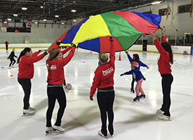 Learn to ice skate for adults